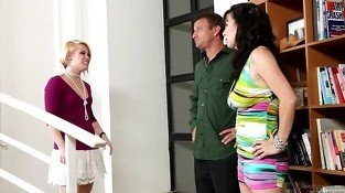 Teen Neighbour Ash Hollywood comes to rescue the marriage of...