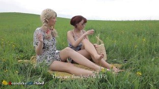 MILF MOM AND TEEN GOING OUTDOOR TO ENJOY SEXUAL ADVENTURE WITH LICKING - Lesbian sex video