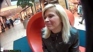 MallCuties Czech blonde girl buys the clothes and fuck