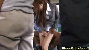Sexy japanese teens fuck in public places 21
