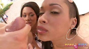 PervCity Leilani and Skin Ebony AnalOverdose